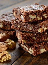 Chai Garam Special Brownies