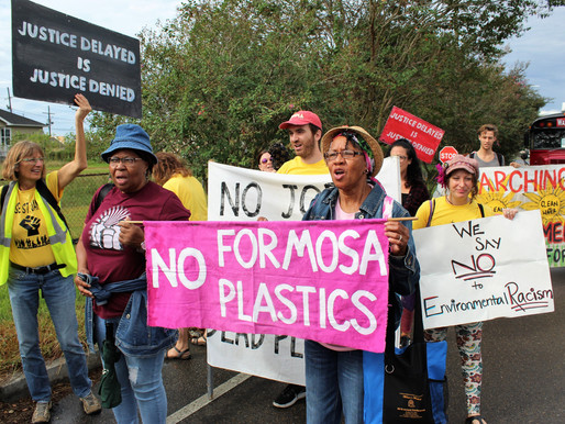 A Black 'Cancer Alley' Community Makes Gains Against Massive Plastics Plant