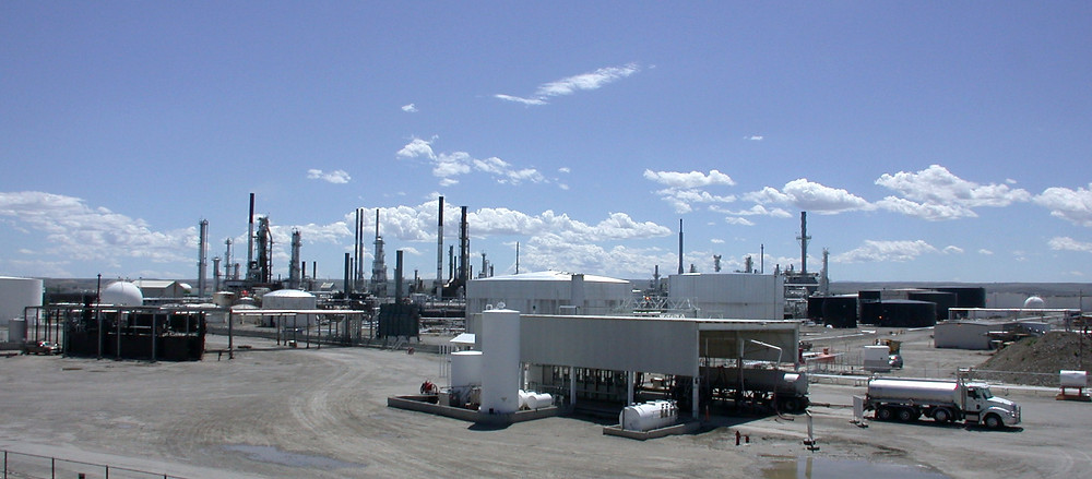 CENEX oil refinery in Billings, Montana, 2012. (Credit: Greg Goebel/Wikimedia Commons)