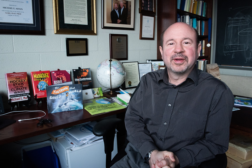 Michael Mann fought a smear campaign that tried to discredit his climate science. (Credit: Sydney Herdle/Michael Mann)