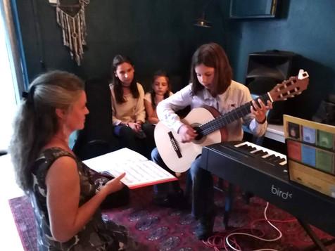concert des enfants du caméléon