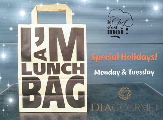Special Holidays... Get your Lunch Box Everyday!