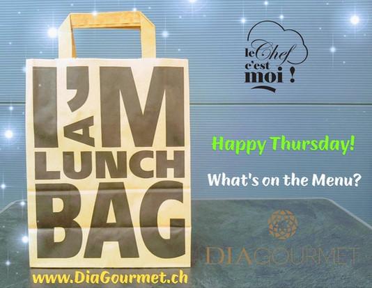 Lunch Box HAPPY Thursday