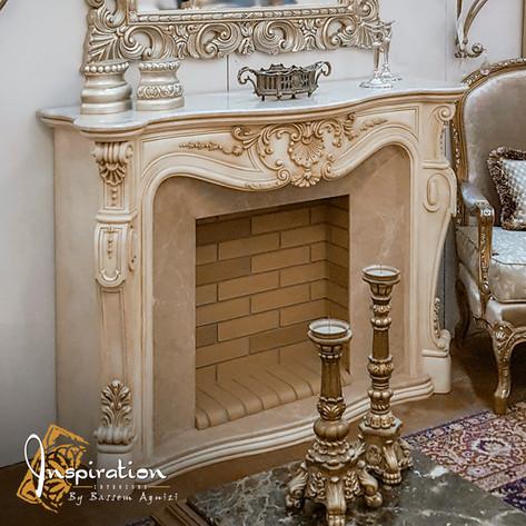 Fireplace Louis Quinze