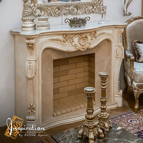Fireplace Louis Quinze