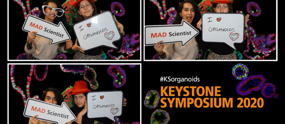 Konstantina and Lama at the organoids KS conference in Vancouver