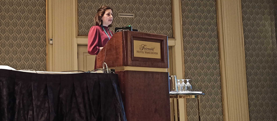 Konstantina presents at the organoids KS conference in Vancouver