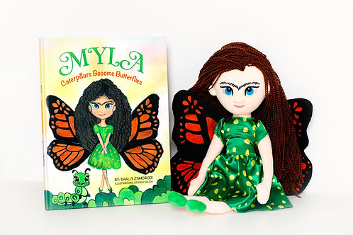Book and Doll