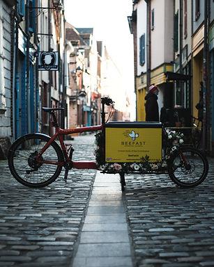 coursier à vélo Amiénois
