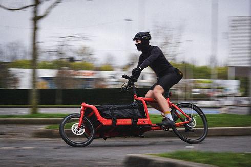 votre coursier à Amiens en vélo avec Beefast