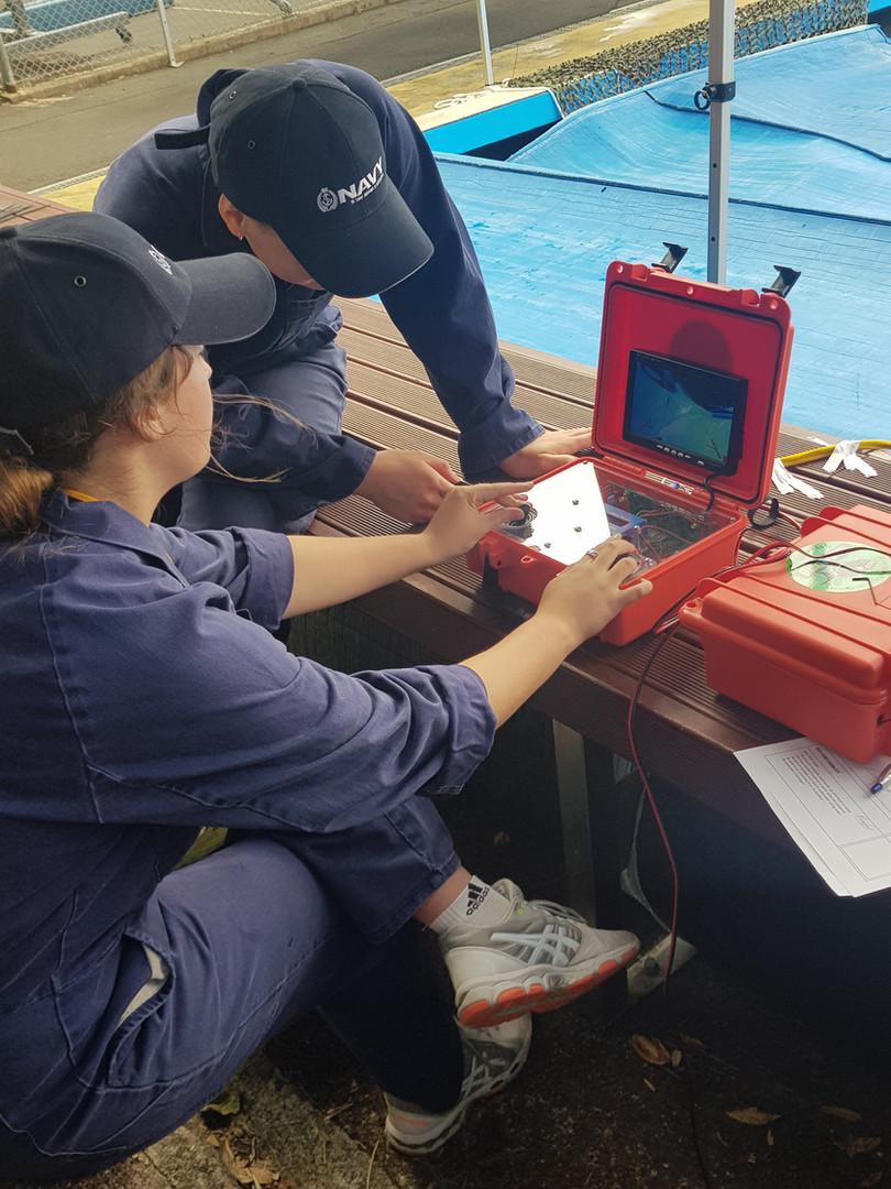 RNZ Navy School to Seas ROV Challenge