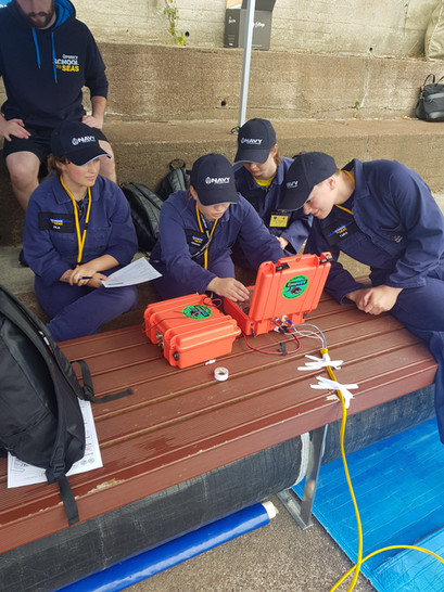 Royal New Zealand Navy School to Seas - ROV Challenge