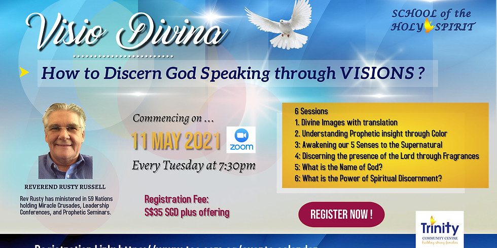 School of the Holy Spirit :  Visio Divina -How to Discern God Speaking through Visions