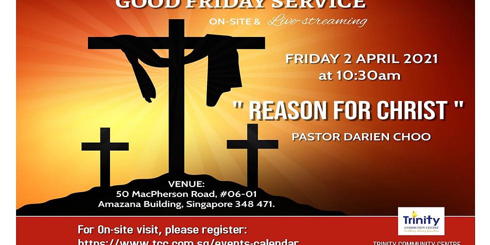 Good Friday Service @ 2 Apr 2021