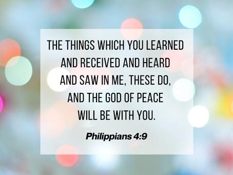 22 November 2020 Word by Honorary Pastor Rev Alicia Teo