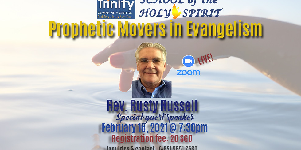 School of the Holy Spirit : Special Speaker - Rev Rusty Russell