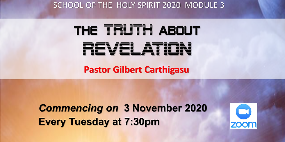 School of the Holy Spirit :  The TRUTH about REVELATION