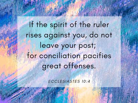 25 November 2020 Word by Honorary Pastor Rev Alicia Teo