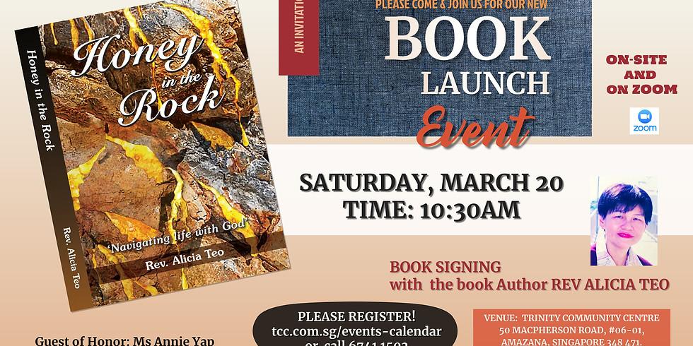 """Honey in the Rock"" Book Launch"