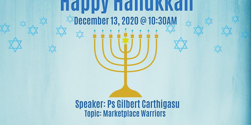 Hanukkah Service @ 13 Dec 2020