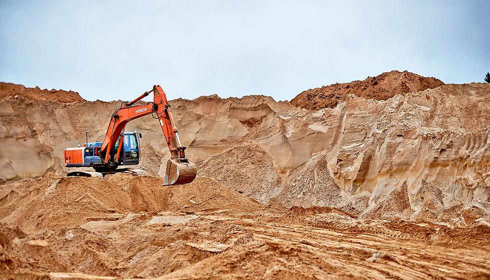 Песчаный карьер Великий Новгород