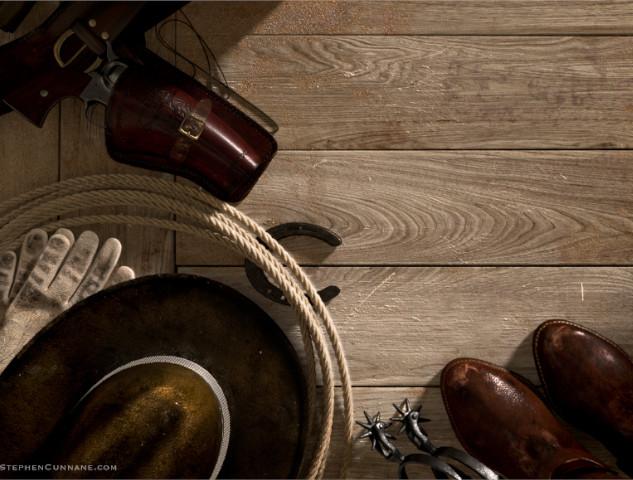 Cowboy Scene - 3D