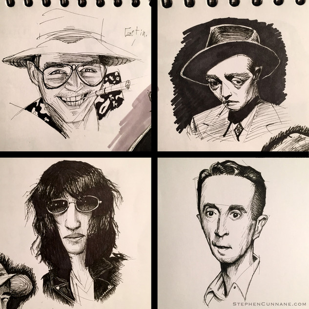 Ink Portaits