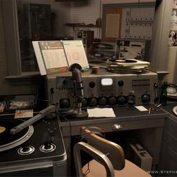 Dewey Philips Booth - 3D