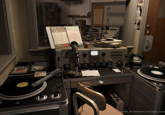 Dewey Philips Booth - 3D