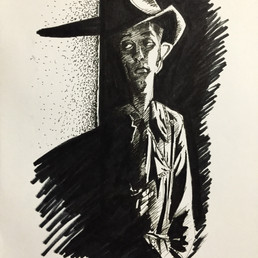 Robert Mitchum Sketch