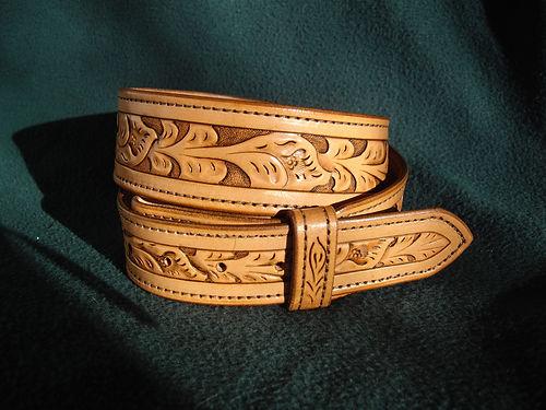 Carved replica belt