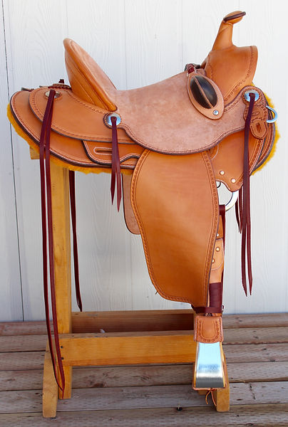 Rough out seat saddle