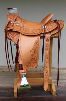 Floral Wade Saddle