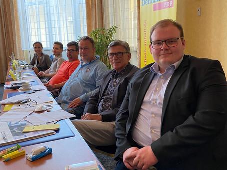 Delegation des Kreisverbands Harz beim Landesparteitag 2021