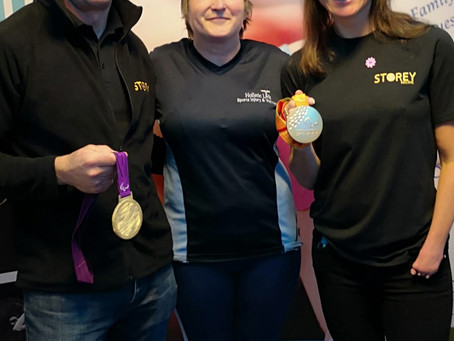 Launch event with Dame Sarah Storey