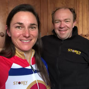 Lockdown interview with Dame Sarah Storey. Part 1 introduction.