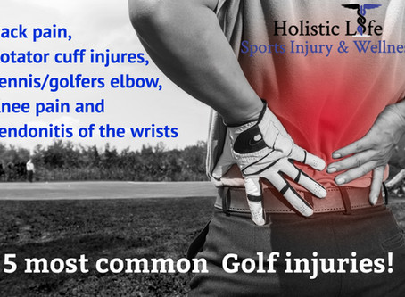 5 common Golfing injuries!