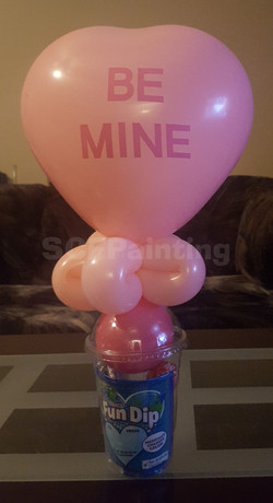 Be Mine candy cup
