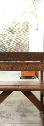 Hayden and Sean with finished memorial b