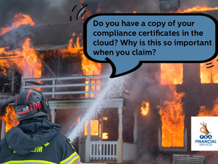 Keep a backup of all your compliance certificates!