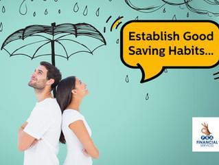 Establishing Good Saving Habits