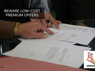 BEWARE!!! LOW COST PREMIUM OFFERS: 7 CRITERIA TO SEE HOW YOUR NEW OFFER MEASURES  UP & THE WHAT