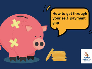 How to get through your self-payment gap