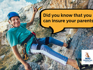 Have you considered life cover for your parents, parents in law or a special family member?