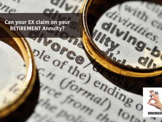 Can your ex claim on your Retirement Annuity?