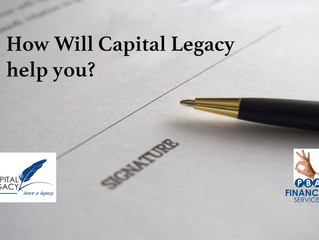 How Will Capital Legacy help you?
