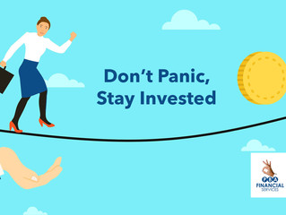 Don't panic, stay invested!