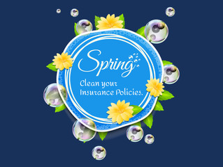 Spring clean your insurance
