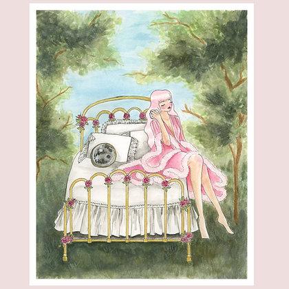 "Custom Giclée Print: ""the progress of love, pt v: i don't care"" 8""x10"""