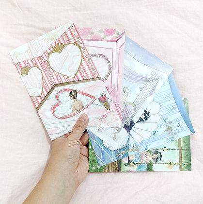 "Postcard Set: ""The Kitsch Hotel Series"""